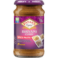 Patak's Biryani Curry Paste (Medium) (10 oz bottle)