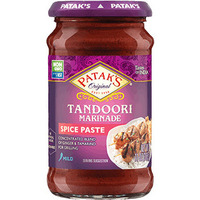 Patak's Tandoori Marinade / Paste (Ginger & Garlic) - Mild (11 oz bottle)