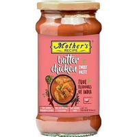 Mother's Recipe Butter Chicken Paste (10.5 oz bottle)