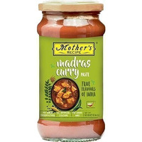 Mother's Recipe Madras Curry Paste (10 oz bottle)