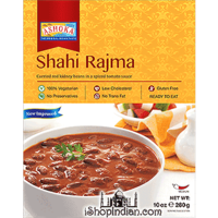 Ashoka Shahi Rajma (Ready-to-Eat) - BUY 1 GET 1 FREE! (10 oz. box)
