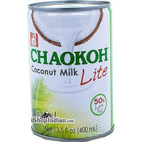 Chaokoh Coconut Milk - Lite (13.5 oz can)