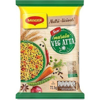 Maggi Vegetable Atta (whole wheat) Noodles - Masala