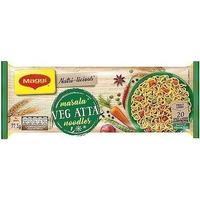 Maggi Vegetable Atta (whole wheat) Noodles - Masala - Quad (10 oz pack)