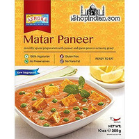 Ashoka Matar Paneer (Ready-to-Eat) - BUY 1 GET 1 FREE! (10 oz. box)