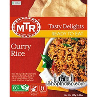 MTR Curry Rice / Tamarind Rice (Ready-to-Eat) (8.9 oz. box)