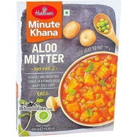 Haldiram's Aloo Mutter - Minute Khana (Ready-to-Eat) (10.5 oz box)