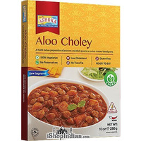 Ashoka Aloo Choley (Ready-to-Eat) - BUY 1 GET 1 FREE! (10 oz. box)