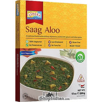 Ashoka Saag Aloo (Ready-to-Eat) - BUY 1 GET 1 FREE!