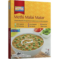 Ashoka Methi Malai Matar (Ready-to-Eat) - BUY 1 GET 1 FREE!