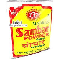 777 Madras Sambar Powder - Economy Pack (17.5 oz bag)