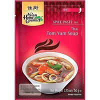 Asian Home Gourmet Thai Tom Yum Soup Spice Paste - Hot (50 gm pack)