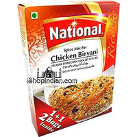 National Chicken Biryani Spice Mix (50 gm box)