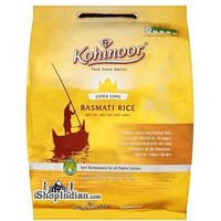 Kohinoor Extra Long Basmati Rice (Gold) - 10 lbs (10 lbs bag)