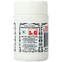 LG Hing (Asfoetida) Powder - 50 GM (50 gm bottle)