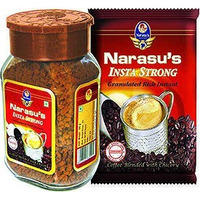 Narasu's Insta Strong Instant Coffee with Chicory (100 gm bottle)