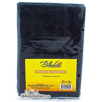 Bhakti Pooja Cloth - Black (1 cloth)