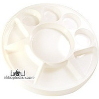 Party Plate (Thali) - Round - 50 Pack