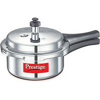 Prestige Popular Stainless Steel Pressure Cooker, 2 Liter