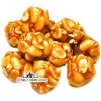 Sweet Peanut Gems (chikki) (7 oz bag)