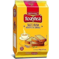 Britannia Suji Rusk (Wheat Toast) (10.7 oz pack)