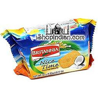Britannia Nice Time Coconut Biscuits (80 gms pack)