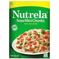 Nutrela Soya Chunks - Mini (7 oz box)