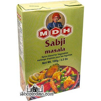 MDH Sabji (Vegetable) Masala (3.5 oz box)