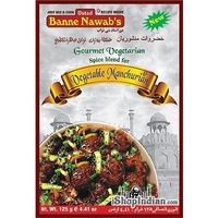 Ustad Banne Nawab's Vegetable Manchurian Spice Mix (125 gm box)