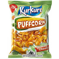 Kurkure - Puffcorn - Yummy Cheese (69 gms bag)