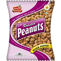 Jabsons Roasted Peanuts - Black Pepper (4.94 oz bag)