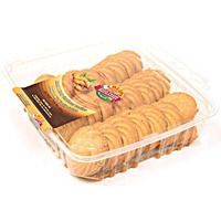 Crispy Almond & Honey Shortbread Cookies (350 gms box)
