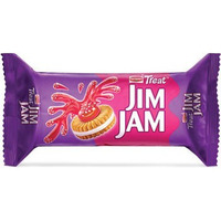 Britannia Treat Jim Jam Biscuits (100 gm pack)