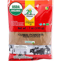 24 Mantra Organic Cumin Powder - 7 oz