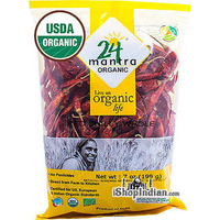 24 Mantra Organic Red Chilli Whole