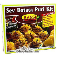 Bansi Sev Batata Puri Kit (14.1 oz box)