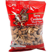 Deep Spicy Cashews - Black Pepper (8 oz bag)