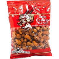 Deep Spicy Cashews - Red Pepper (8 oz bag)