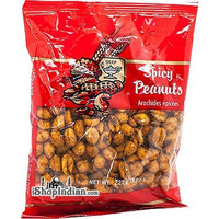 Deep Spicy Peanuts (8 oz bag)