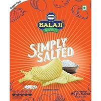 Balaji Wafers Simply Salted Potato Chips (150 gm pack)