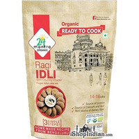 24 Mantra Organic Ragi Idli Mix (7.62 oz pack)