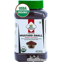 24 Mantra Organic Mustard Seeds (Small) - 12 oz jar (12 oz jar)