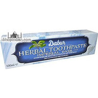 Dabur Herbal Toothpaste with Basil (100 ml. tube)