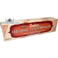 Dabur Herbal Toothpaste with Clove (100 ml. tube)