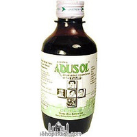 Adusol Ayurvedic Cough Syrup with Tulsi