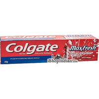 Colgate MaxFresh Toothpaste with Cooling Crystals - Spicy Fresh (150 gm box)