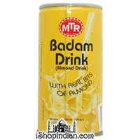 MTR Badam Drink (Almond Drink) Ready to Drink Can (6.08 oz can)