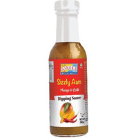 Ashoka Sizzly Aam Dipping Sauces - Mango & Chilli (260 gm bottle)