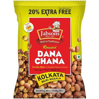 Jabsons Roasted Dana Chana - Kolkata Muri Masala (6.35 oz bag)