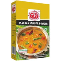 777 Madras Sambar Powder - BUY 1 GET 1 FREE! (5.8 oz box)
